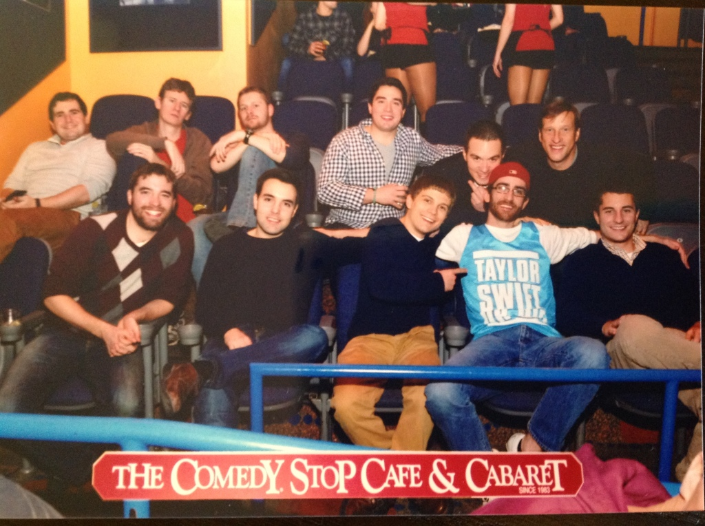 Bachelor Party Group Shot (Comedy Show)