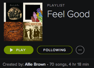 Feel Good Playlist