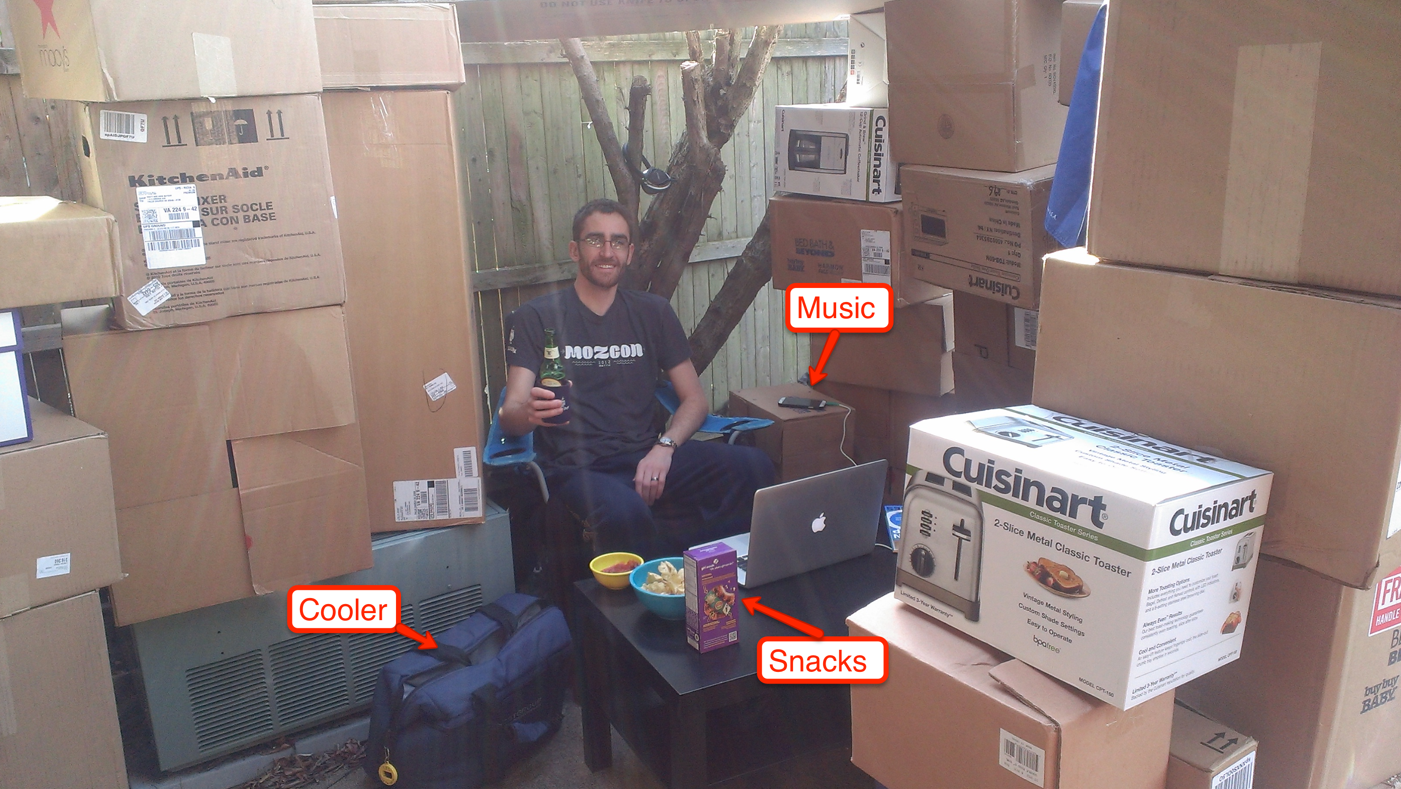 backyard box fort you re never too old for an outdoor box fortbrett