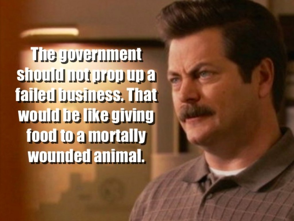 Ron Swanson Quotes From Parks And Recreationbrett Snyder